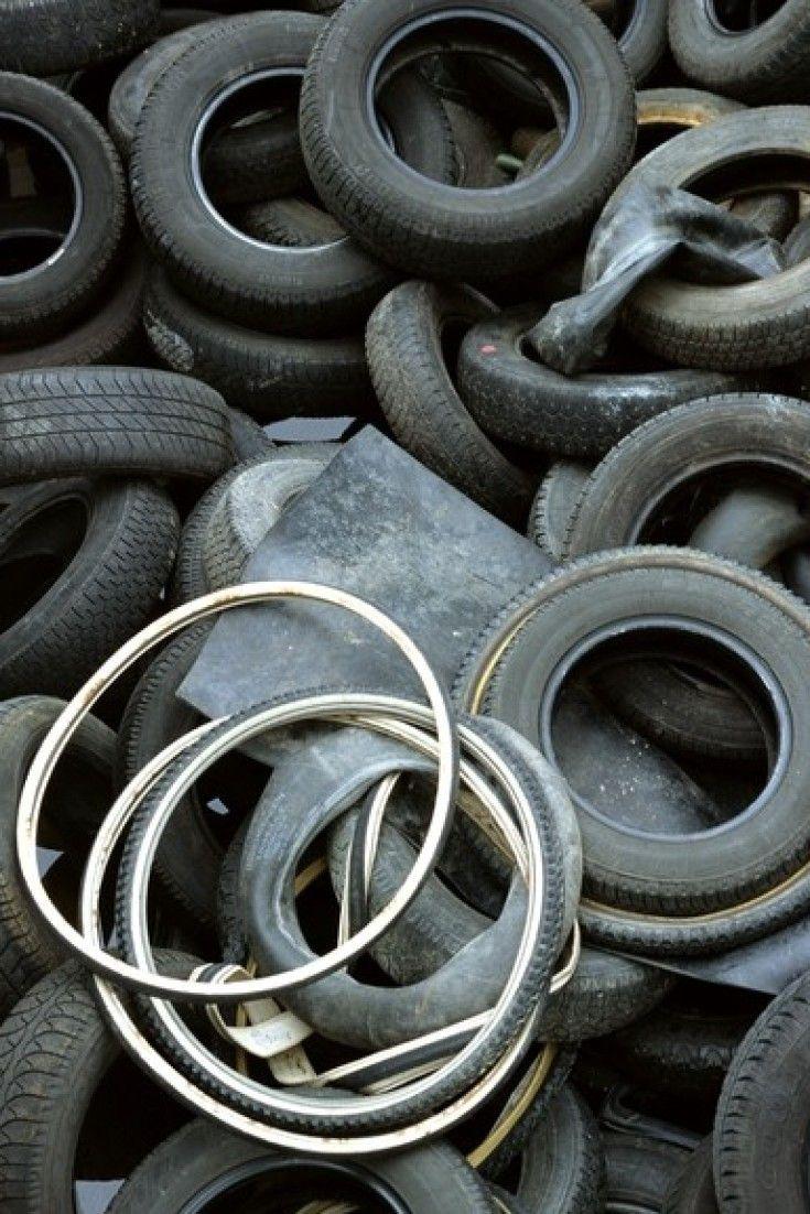 4 Viejos 4 formas de tratar los neumáticos viejos para que el