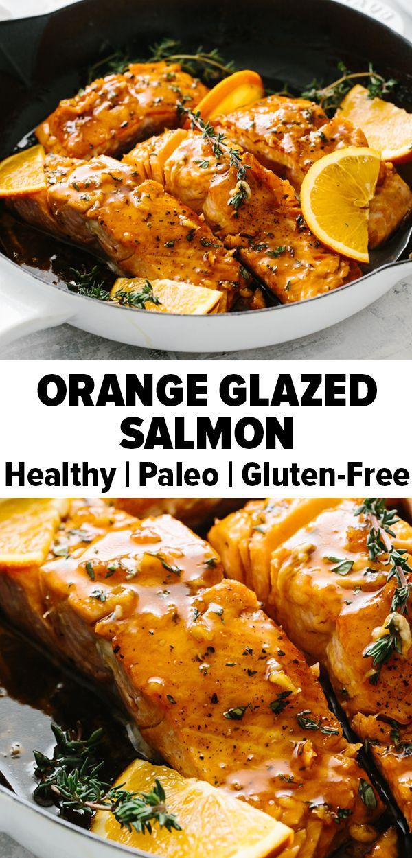 Photo of Orange Glazed Salmon
