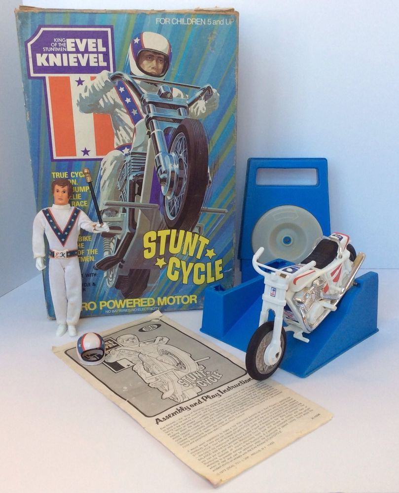 evel knievel stunt cycle cool stuff from my childhood. Black Bedroom Furniture Sets. Home Design Ideas