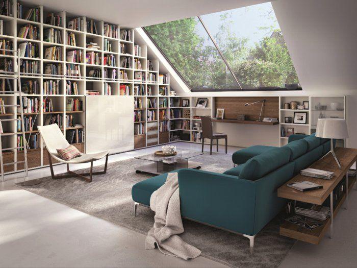 Favori Les meubles sous pente - solutions créatives - Archzine.fr  MQ57