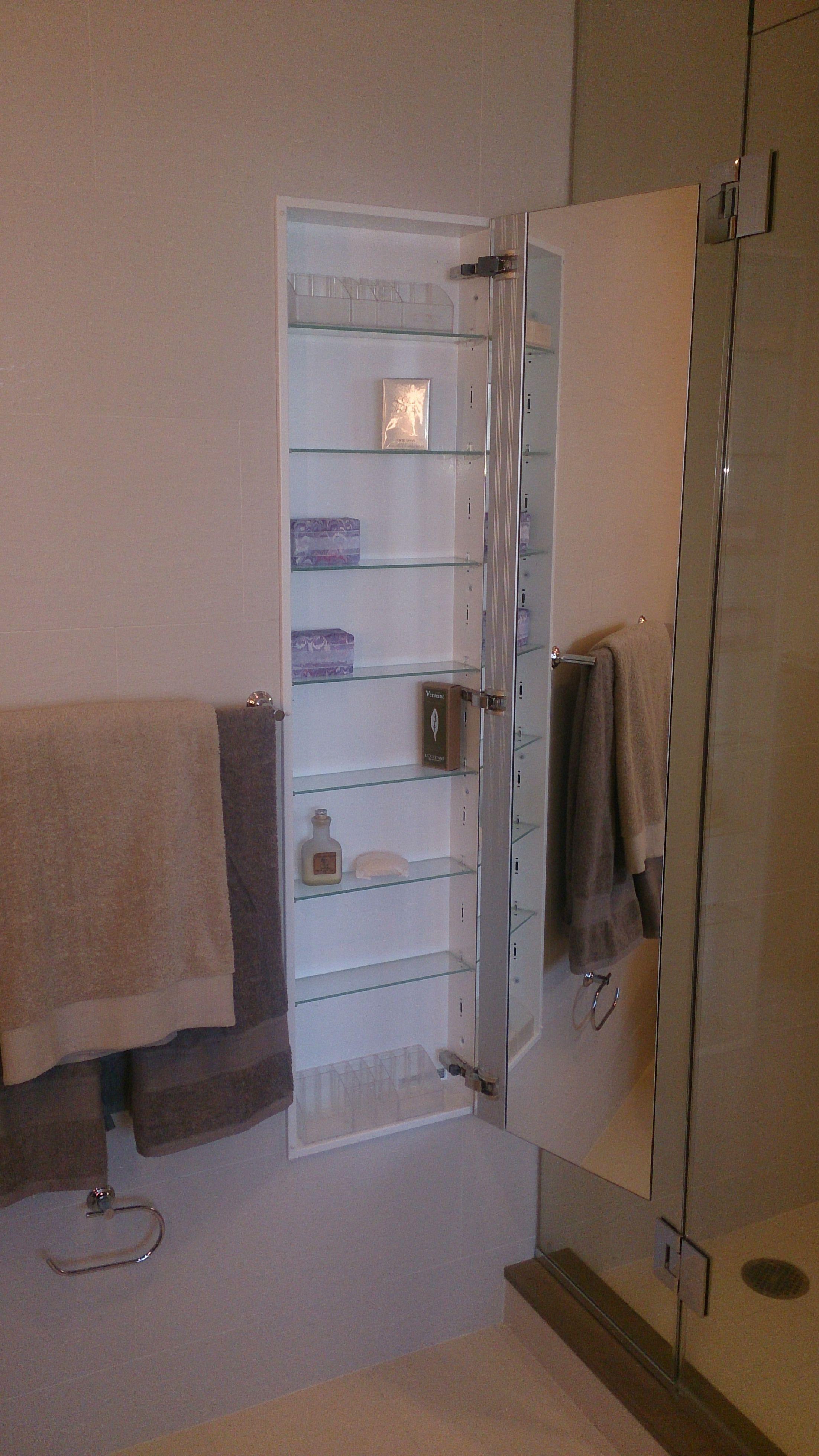 Sidler Custom Medicine Cabinet 15 X 60 With Images Bathroom