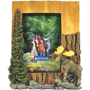 4 X 6 Pinnacle Frame Moose Frame 1 Each Walmart Com Frame Moose Pictures Photo Frame
