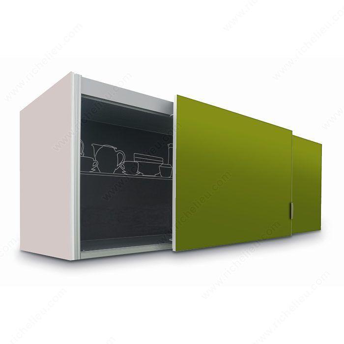 Slider S20 Pre Assembled Coplanar 2 Door System For Upper Cabinets Standard Size 1 Barn Door Hardware Barn Door Kit Barn Door