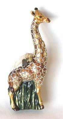 Jay Strongwater Crystal Ornament Giraffe On Jay