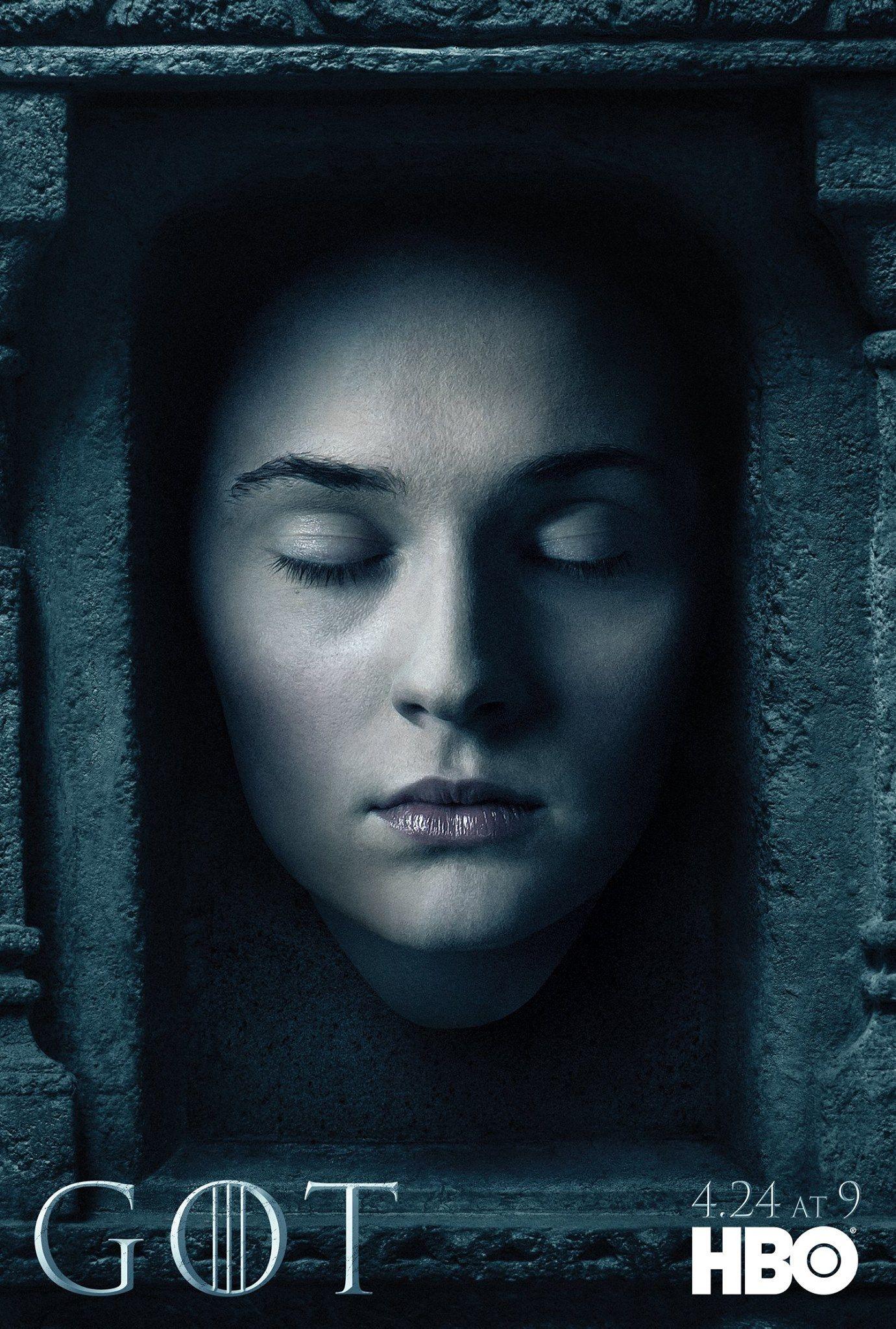 Game Of Thrones Character Posters Debut For Season 6 Sansa Stark Juego De Tronos Game Of Thrones