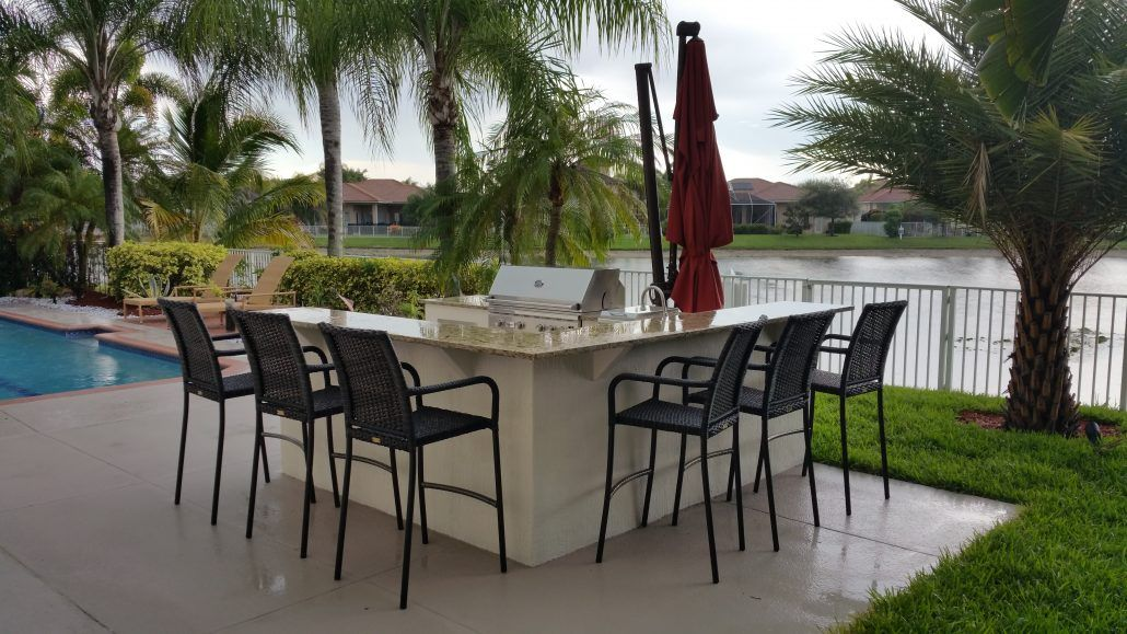 Outdoor Kitchen By Brandel Masonry In Coral Springs Florida