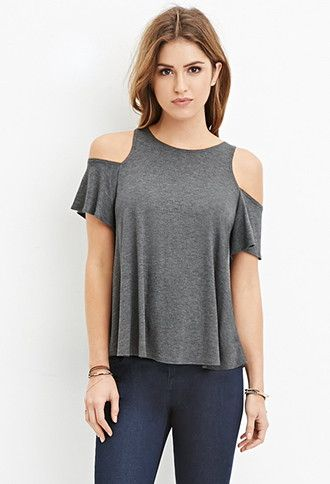 e375db2f142a5 Open-Shoulder Top