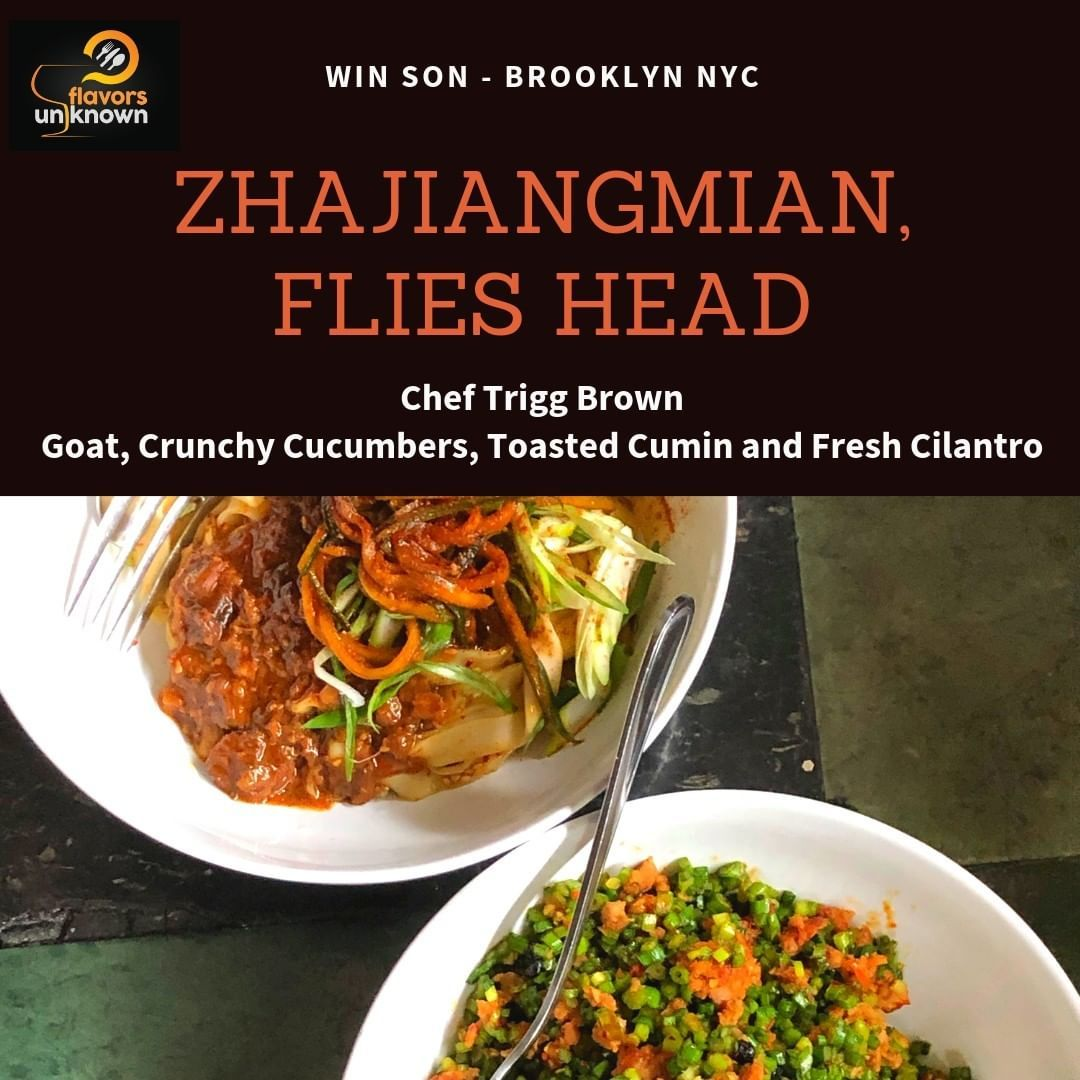 Zhajiangmian Is A Northern Chinese Dish Traditionally Made With Pork Simmered In A Thick Gravylike Fried Sauce Consisting In 2020 Chinese Dishes Fresh Cilantro Crunchy