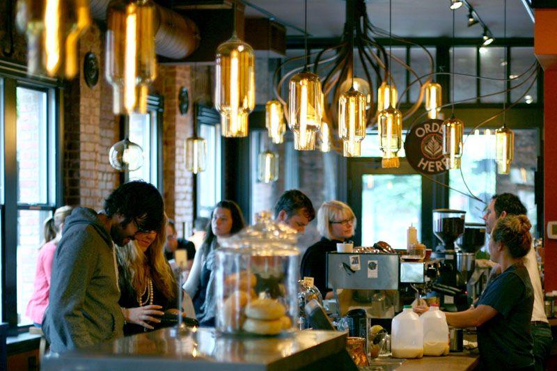 8 favorite Seattle cafes Seattle coffee shops, Seattle