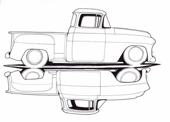 1950 chevy pickup truck