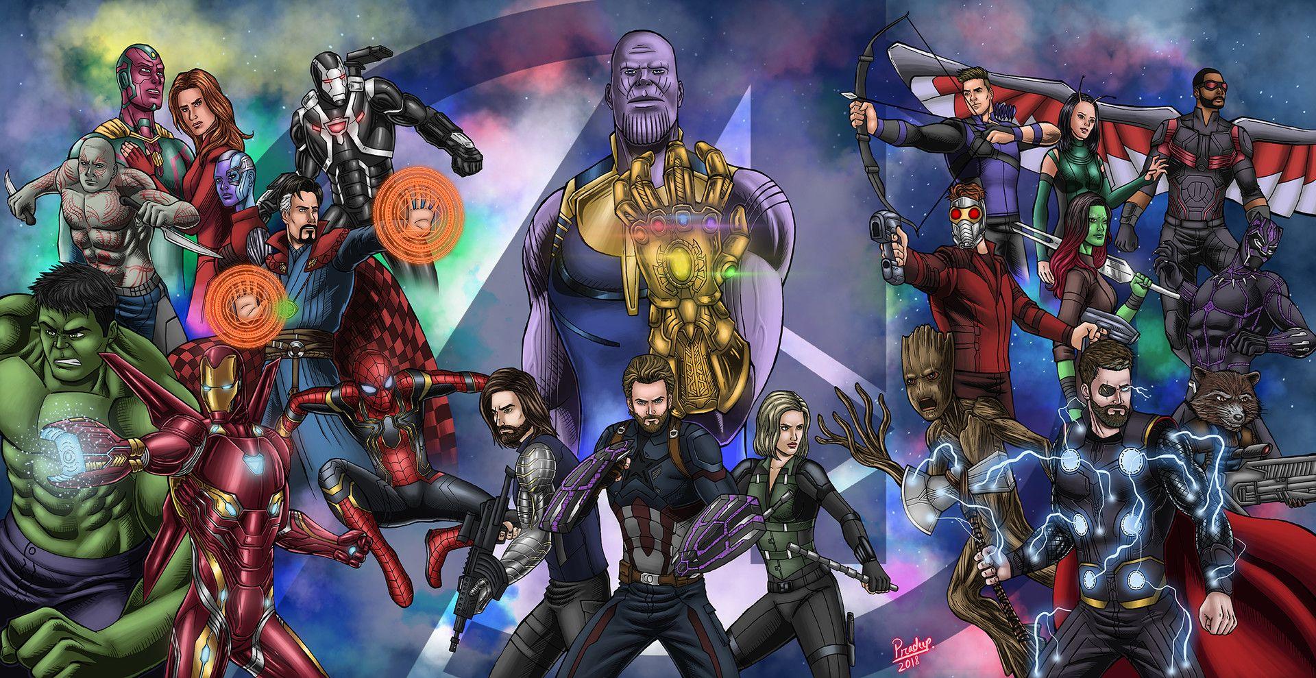 Avengers Infinity War By Pradeep Sethi Avengers Infinity War
