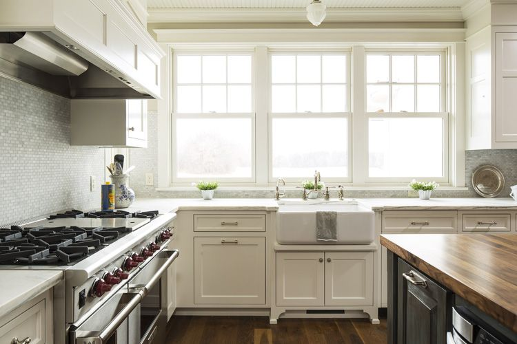 modern farmhouse gallery | hendel homes | home - kitchens