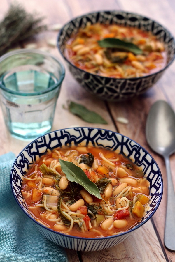 Minestrone d'hiver - Amandine Cooking
