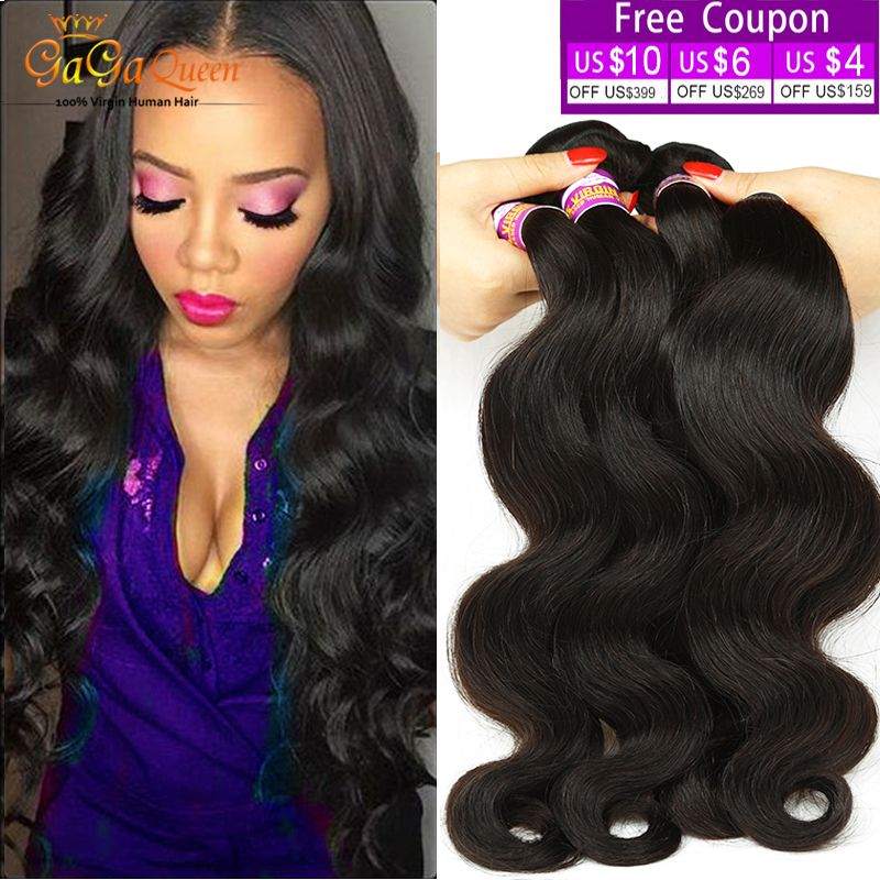 Hair Weaving 7a Mink Brazilian Virgin Hair Body Wave 4 Bundles