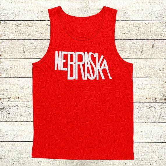 Nebraska Stately Tank by The Stately Shirt Co. by TheStatelyShirtCo