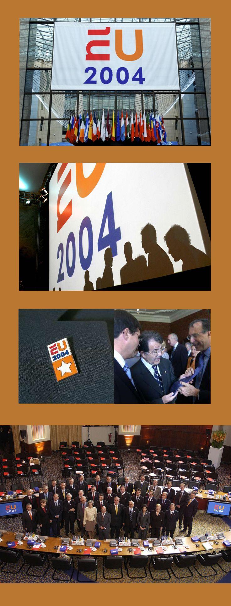 EUNL 2004 Visual Identity Presidency of the Council of the European Union - Portfolio of Twan Minten #Branding