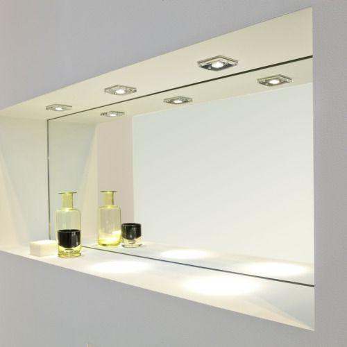 Bathroom Wall Sconces Vancouver: Spot Encastrable Carré Vancouver 230V IP65