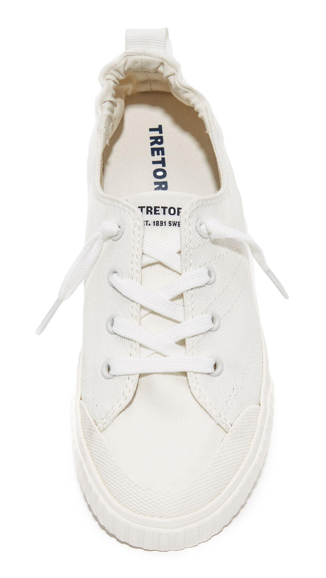 Tretorn Meg Denim Sneakers   Denim