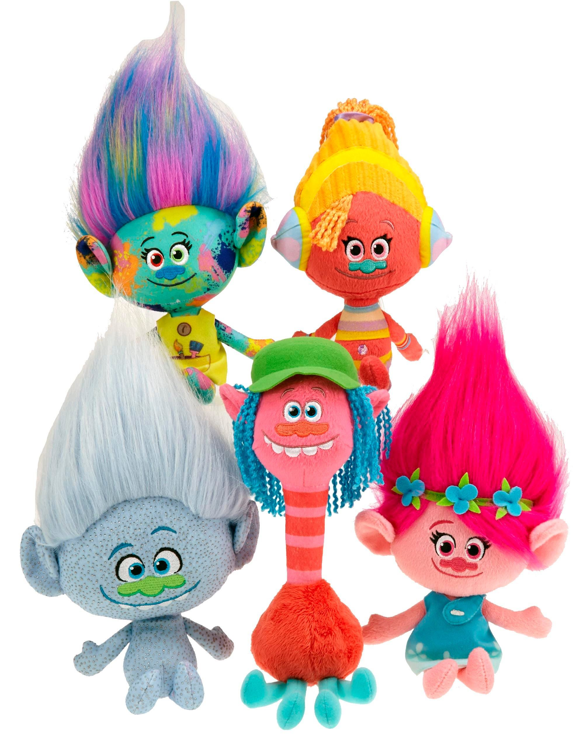 New Trolls from Dreamworks Toys for 2016 First Look Toy Fair 2016
