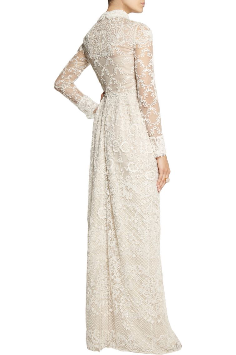 Valentino wedding dress  Valentino dress back view  Pretty in white  Pinterest