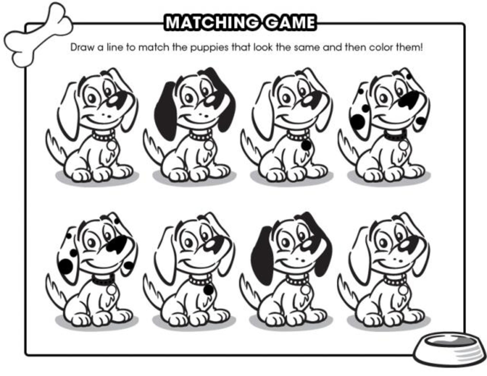12 Free Puppy Printables