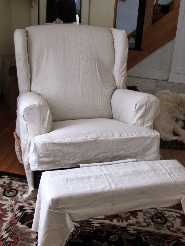 Simply Simplisticated: Simple Slipcovers For An Old