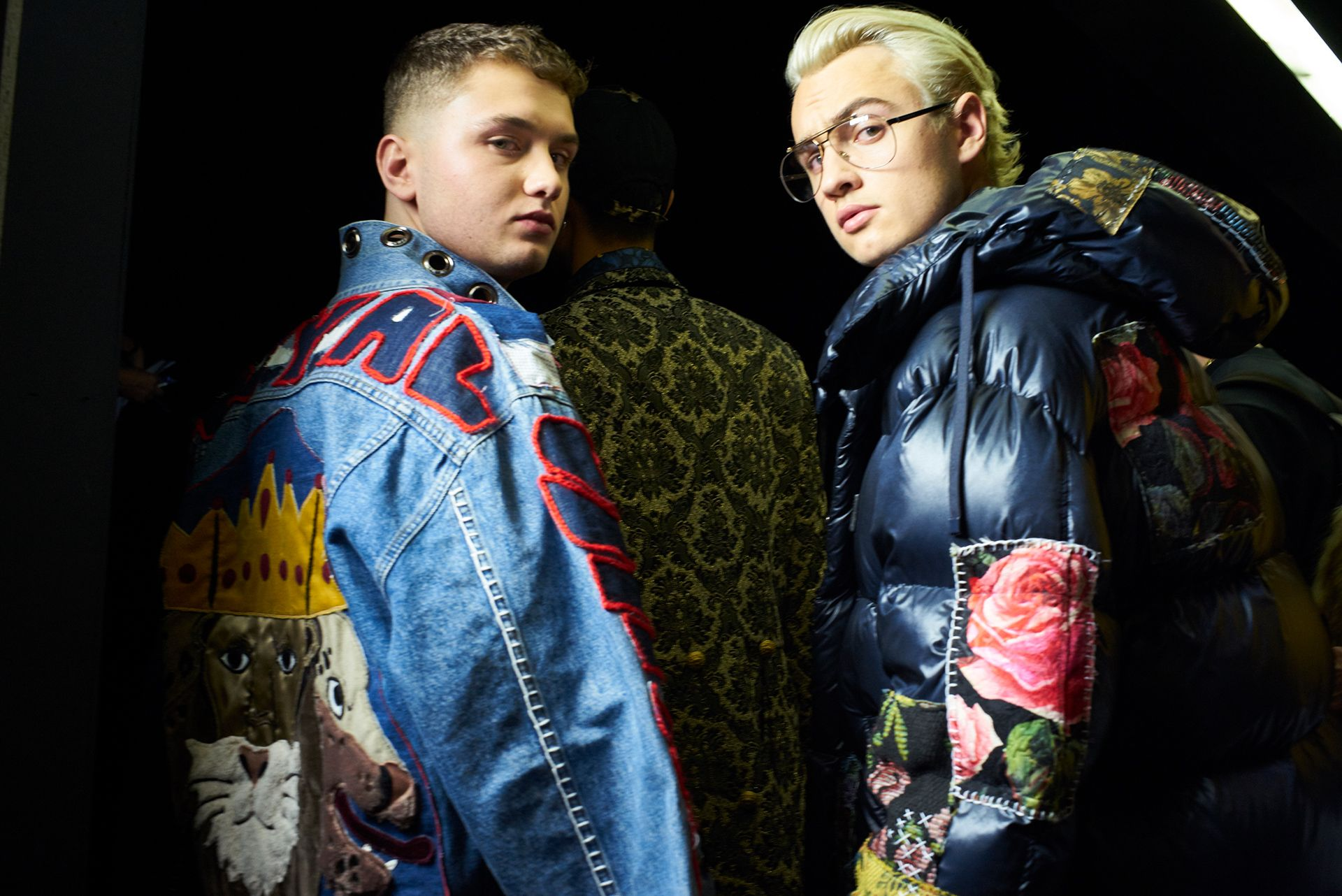 Videos and Pictures from Dolce&Gabbana Fall Winter 2017-18 Menswear Fashion Show Backstage on Dolcegabbana.com.