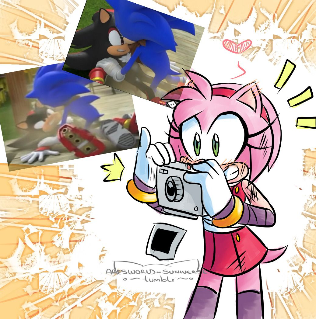 boom sonamy comic | Tumblr | Sonic Sez | Sonic funny, Sonic