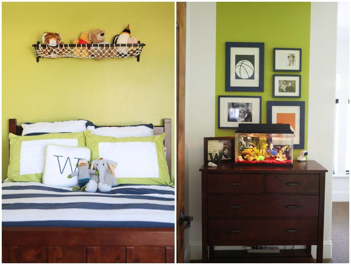 Chic Modern Sports Themed Boys Bedroom | dream. | Pinterest ...