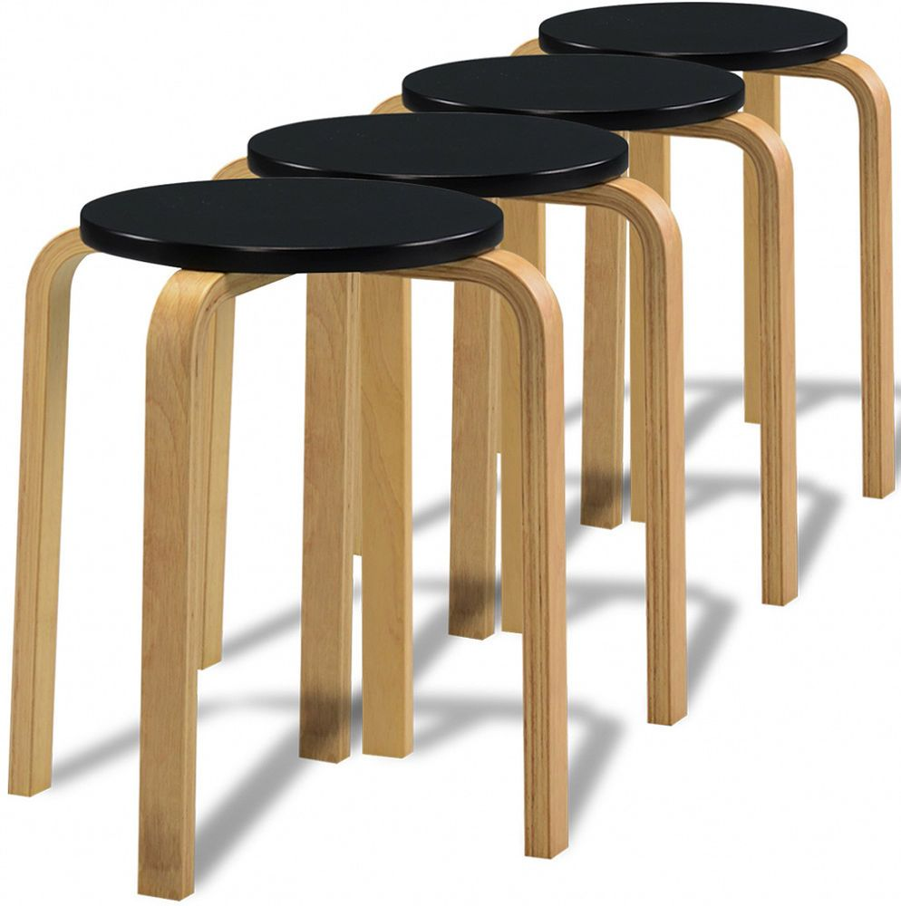 Marvelous Small Wooden Stools Kitchen Breakfast Modern Style Stool Set Squirreltailoven Fun Painted Chair Ideas Images Squirreltailovenorg