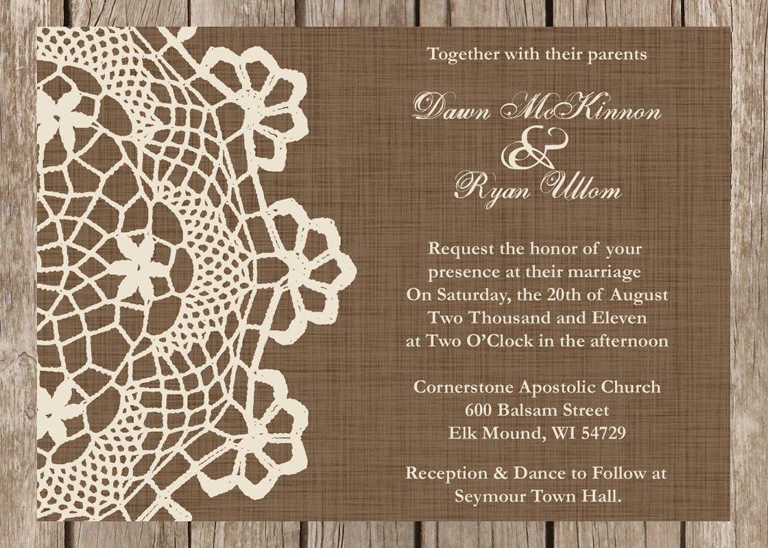 Rustic Wedding Invitation Sayings | Wedding | Pinterest | Invitation ...