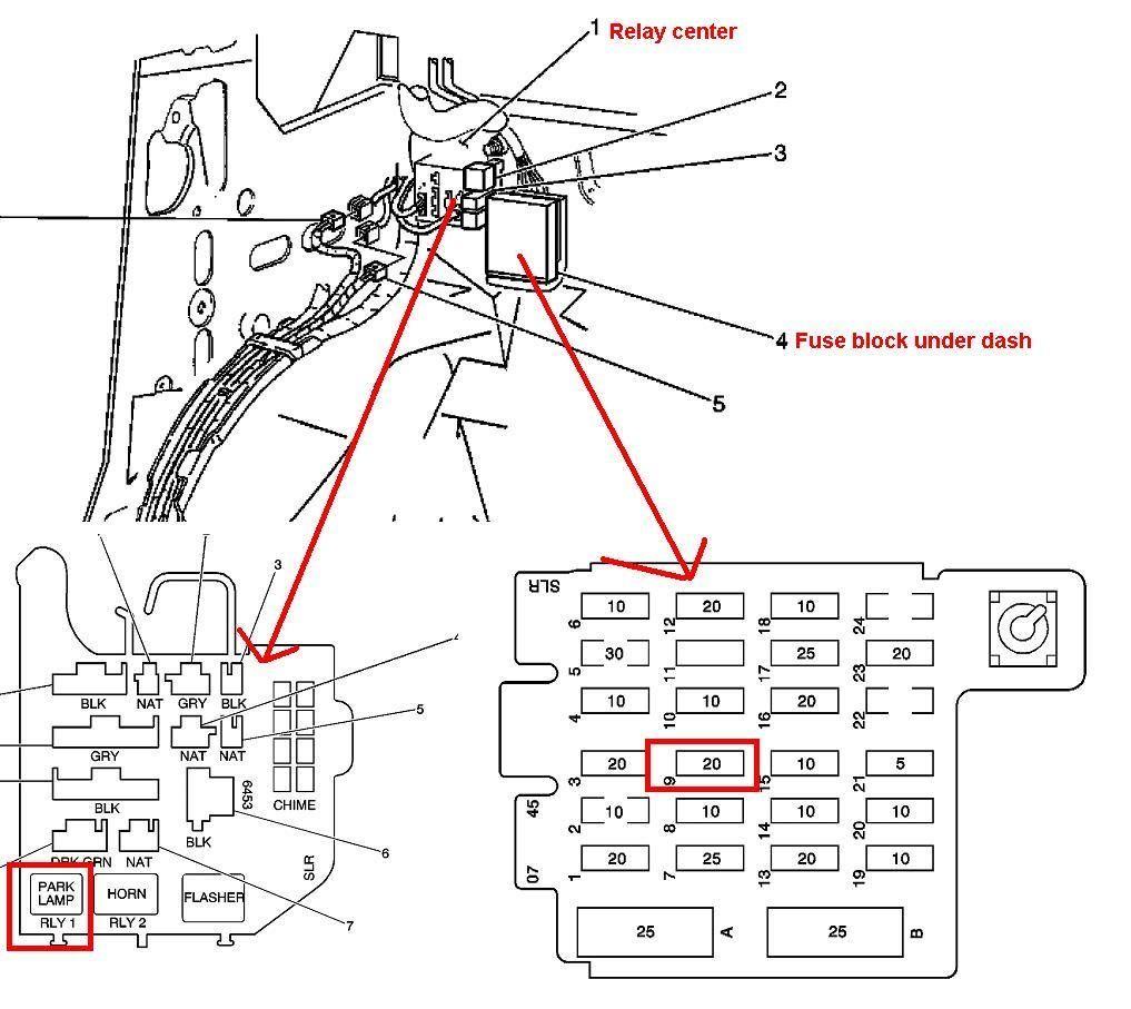 1994 Chevy Astro Van Fuse Diagram | Wiring Diagrams | Chevy astro van,  Astro van, Chevrolet astroPinterest