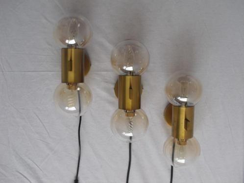 Stunning Messing Wandlampen Uit De Jaren 50 Deze Lampen Doen Qua Stijl En Vorm Denken