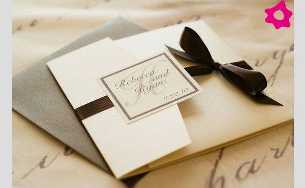 Invitaciones Wedding Pinterest Boda elegante, Invitaciones y - bodas sencillas