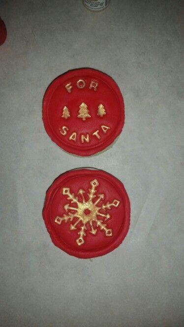 Short bread cookies for Santa #shortbreadcookies Short bread cookies for Santa