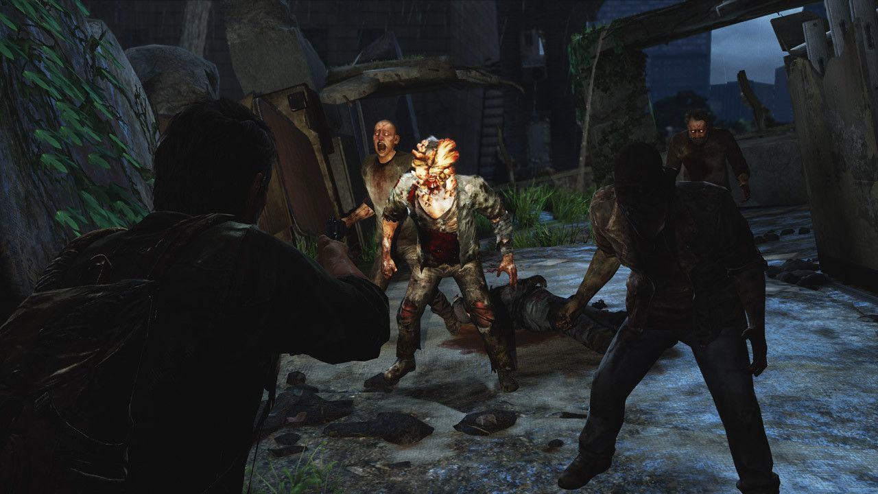 In Defense Of Zombie Games The Last Of Us Zombie Art Last Of Us Remastered