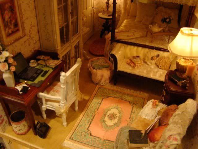 Miniature Victorian bedroom