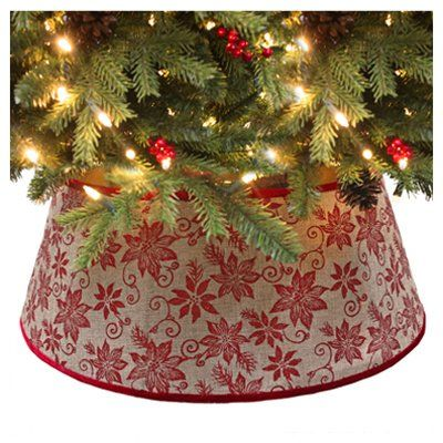 11x26burlap Tree Collar Amazon Best Buy Christmastree Burlap Christmas Tree Tree Collar Burlap Christmas