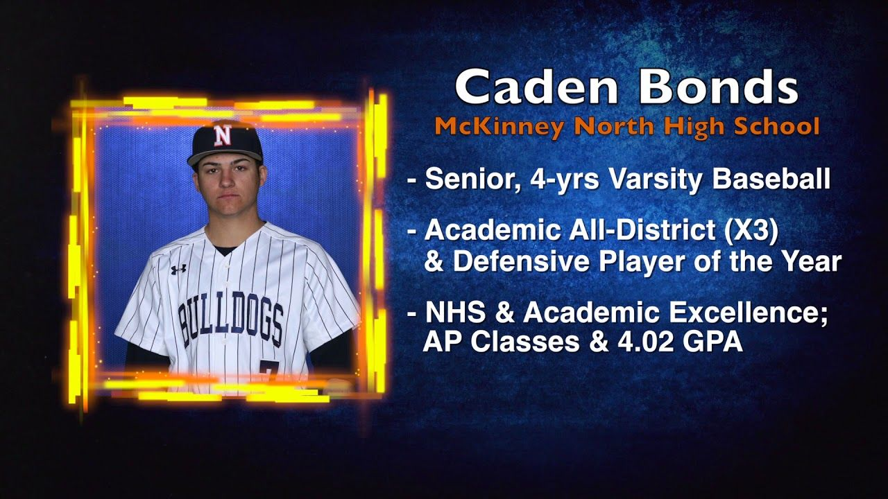 Scholar Athlete of the Week Caden Bonds (With images