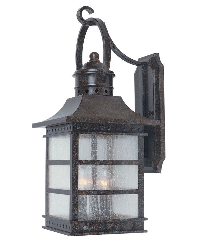 The Savoy House 5 442 72 Rustic Bronze Asian Themed 3 Light Outdoor Wall Sconce From Seafarer Collection In Stock At Build Com