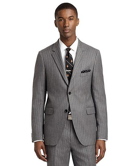 22feedc05d165e Milano Fit Rope Stripe 1818 Suit - Brooks Brothers | MAN S WORLD ...