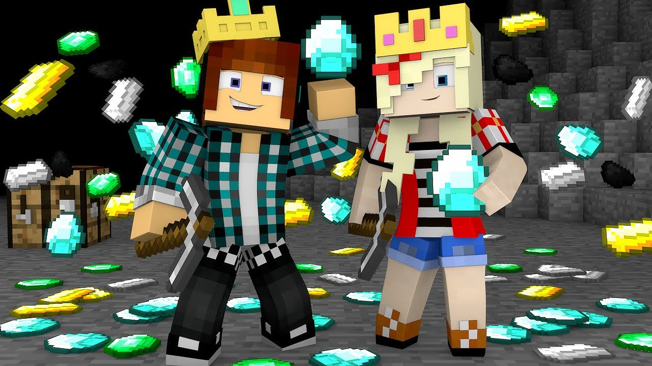 Minecraft : MULTIPLICANDO MINÉRIOS !!- Minecraft Reino #07