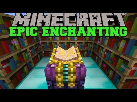 Minecraft Epic Enchanting Mod Better Enchantments Choose Enchants Mod Showcase Youtube Minecraft Minecraft Mods All Minecraft