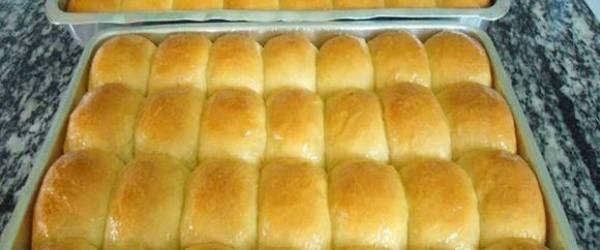 Foto - Receita de Pão de leite condensado