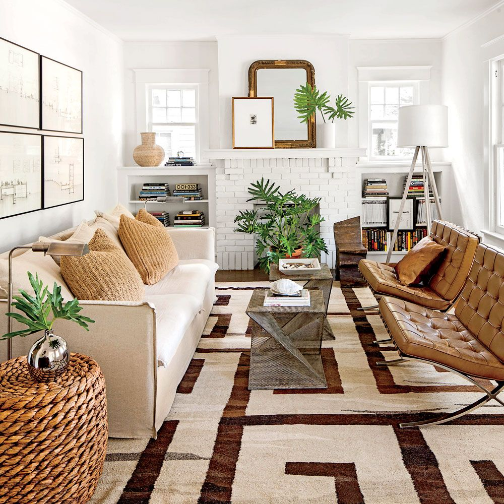 Narrow Living Room Solutions: Southern Living Magazine