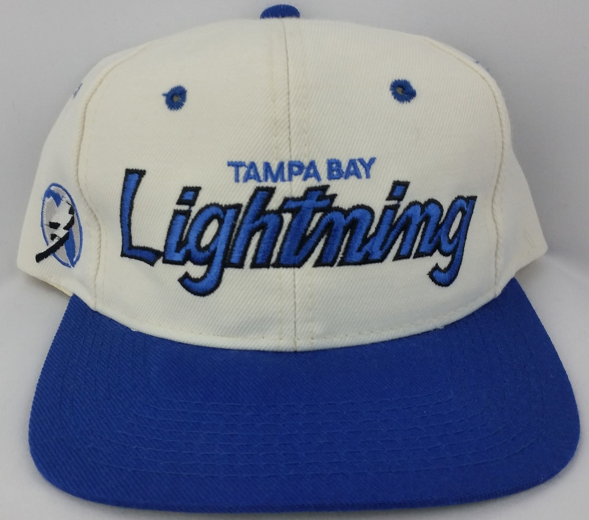 a333152569a Tampa Bay Lightning Hat Sports Specialties Snapback Wool Script Starter  Vintage