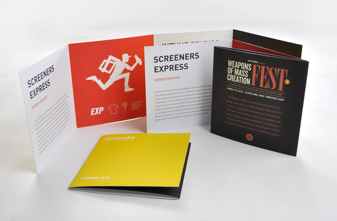 go media mailers brochure design by go media direct mail and brochures