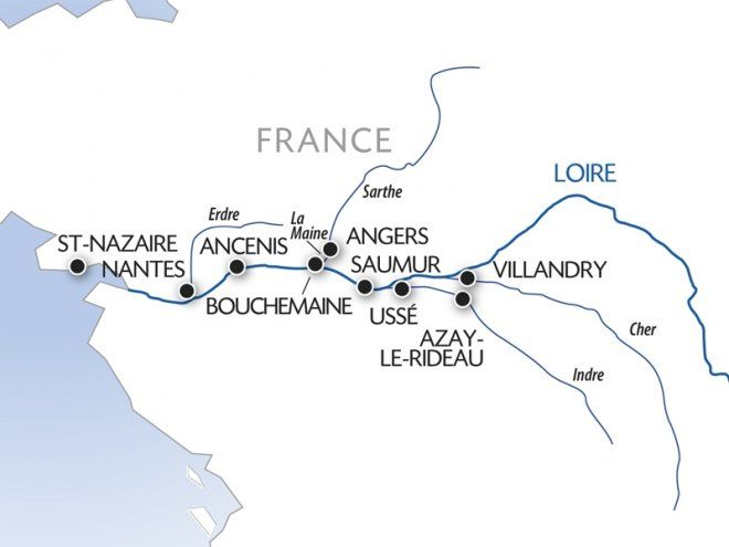Day Loire Valley River Cruise With Croisi Europe River Cruises - Croisi river cruises