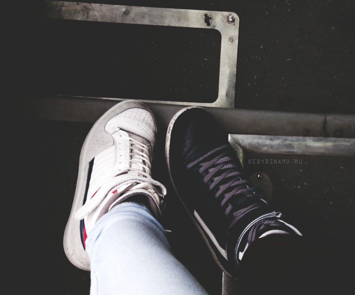 Мои любимые кроссовки динамо, Гус-2. Высокие. Белые, ставшие классикой и bb7da141372
