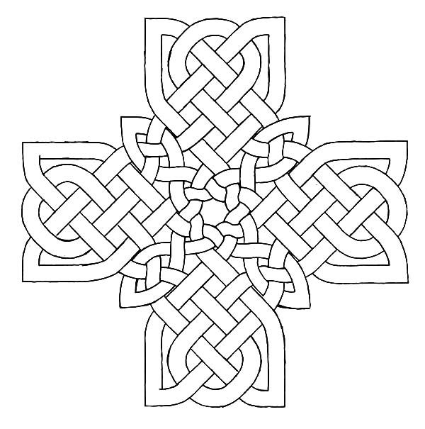 Celtic Cross, : Drawing Celtic Cross Coloring Pages | DIY and crafts ...